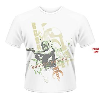 Star Wars - Boba Fett Stencil (colorant Sub) T-Shirt