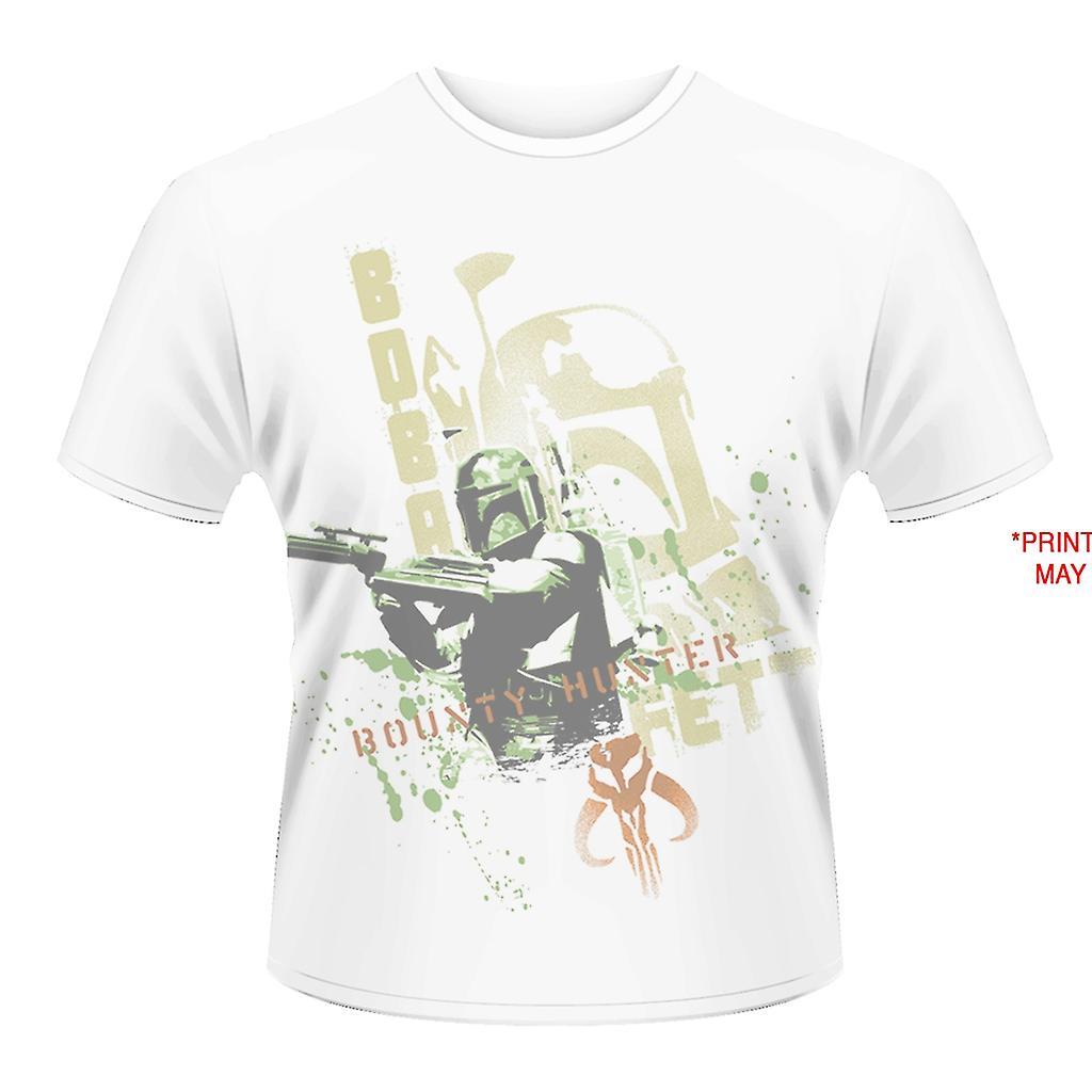 STAR WARS-BOBA FETT STENCIL (DYE SUB) t-shirt