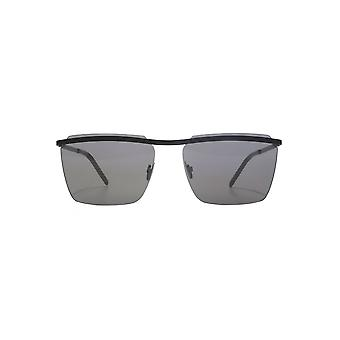 Saint Laurent SL 243 Sunglasses In Black Flash Mirror