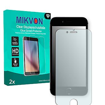 Apple iPhone 6s Screen Protector - Mikvon Clear (Retail Package with accessories) (reduced foil)