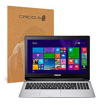 Celicious Vivid Invisible Glossy HD Screen Protector Film Compatible with ASUS Transformer Book Flip TP550LA [Pack of 2]