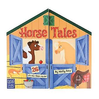 Horse Tales - Double Booked - 26 lift-the-flaps inside! by Horse Tales -