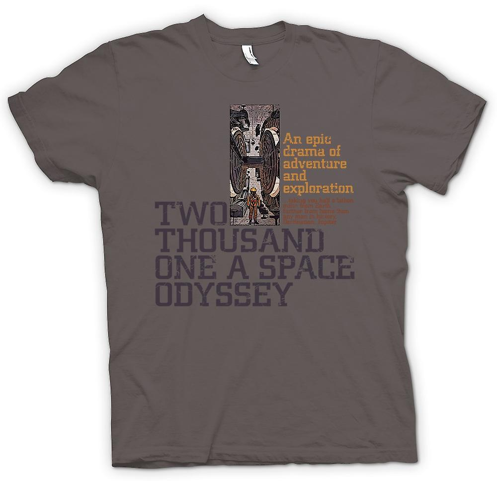 Womens T-shirt-2001 A Space Odyssey - Kubrick