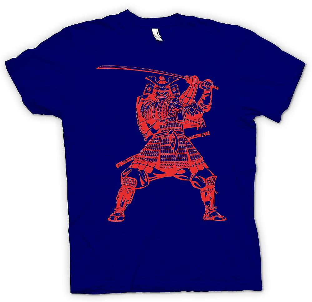 Mens t-shirt-Samurai Warrior