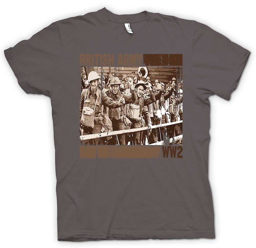 Womens T-shirt-Armée britannique World War 2