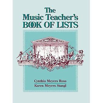 Livre du professeur de musique de listes