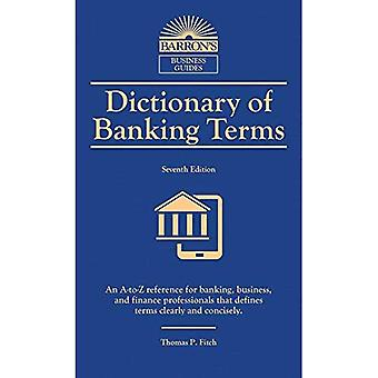 Dictionary of Banking Terms