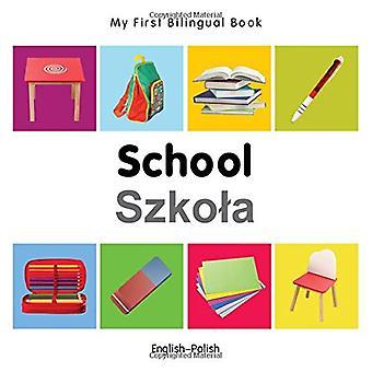 Mon premier livre bilingue - école - anglais-polonais