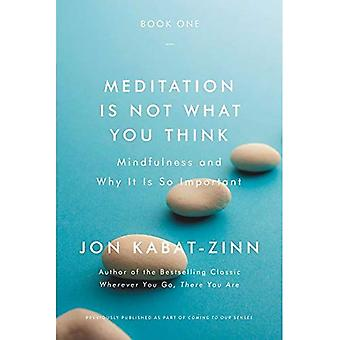 Meditation Is Not What You� Think: Mindfulness and Why� It Is So Important