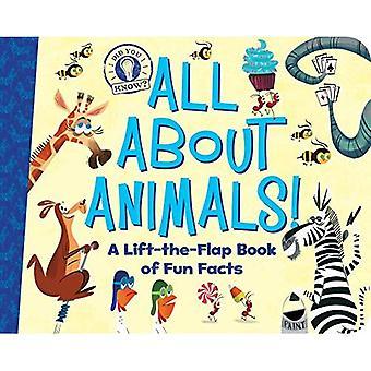 Tutto su animali!: un libro di Lift-the-Flap di fatti divertenti (lo sapevate?) [Scheda libro]