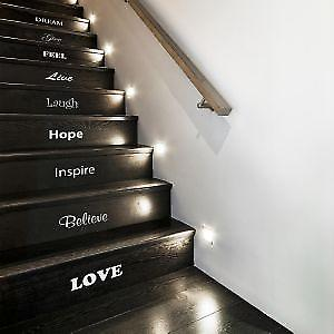 Inspirational Stair Stickers