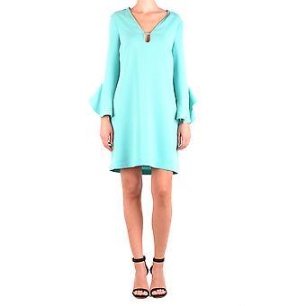 Pinko Green Polyester Dress