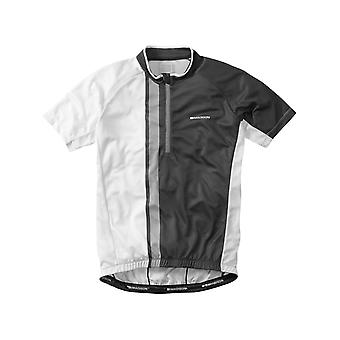 Madison Black-White 2016 Tour Short Sleeved Cycling Jersey