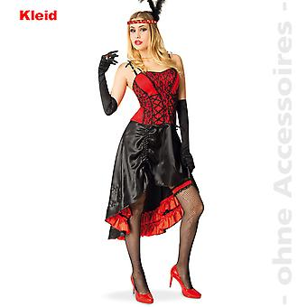 Cancan costume ladies saloon Lady Moulinrouge dress saloon girl Womens costume