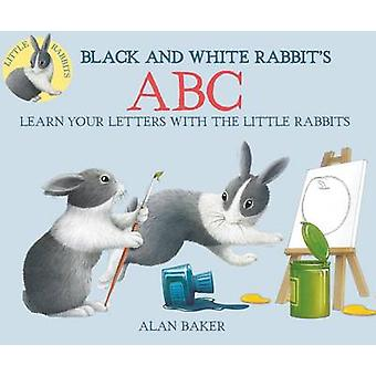 Black and White Rabbit's ABC by Alan Baker - 9780753473221 Book