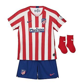 2019-2020 Atletico Madrid Home Nike Baby Kit