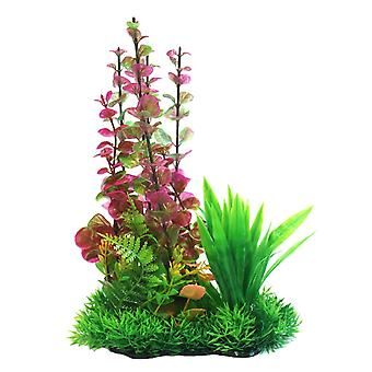 Betta Choice Pink Combi Plastic Plant 25cm