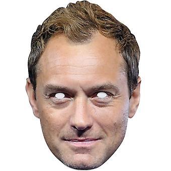Jude Law enkelt 2D Card Party ansigtsmaske