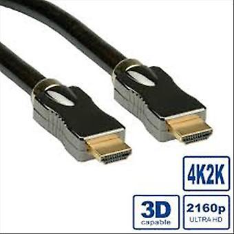 Itb soluzione ro 11.04.5682 cavo hdmi 1.4 connettori maschio/maschio (19pin tipo a) 3mt italia (ro 11.04.5682)