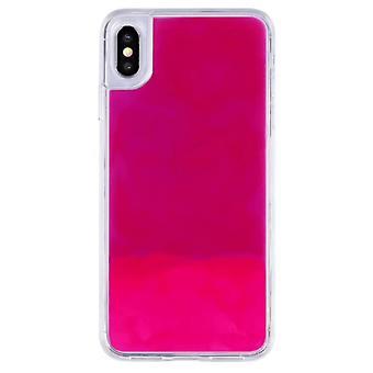 Sag CoolSkin flydende neon TPU til Samsung A50 pink