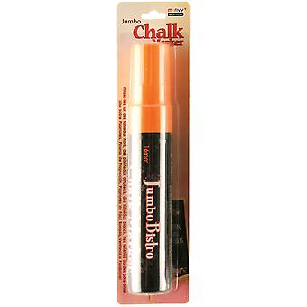 Bistro Chalk Marker Jumbo-Fluorescent Orange 481-C-F7