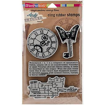 Stampendous Andy Skinner Cling Stamp 5