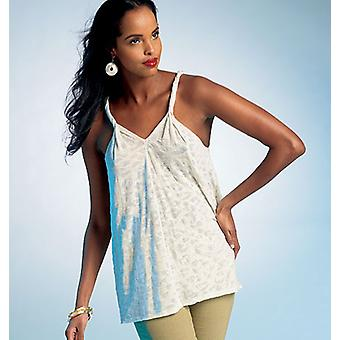 Misses' Top And Tunic  Y Xsm  Sml  Med Pattern V1306  0Y0