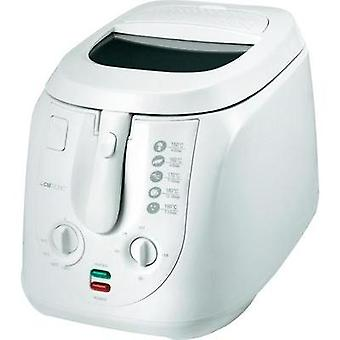 Deep fryer with manual temperature settings Clatronic FR3548 White