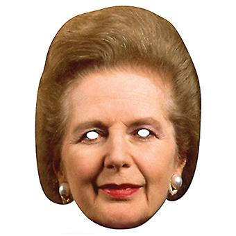 Margaret Thatcher The Iron Lady Card Party Face Mask