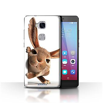 STUFF4 Case/Cover for Huawei Honor 5X/GR5/Peeking Bunny/Funny Animals