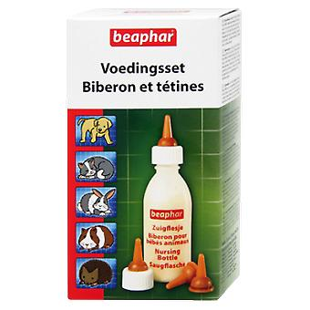 Beaphar Teats Bottle Kit + 4 + Cleaner (Cats , Bowls, Dispensers & Containers , Bowls)