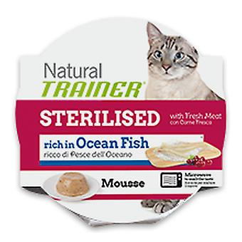 Trainer Natural Mousse Sterilised With Ocean Fish (Cats , Cat Food , Wet Food)