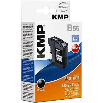 KMP Ink replaced Brother LC--227XLBK Compatible B