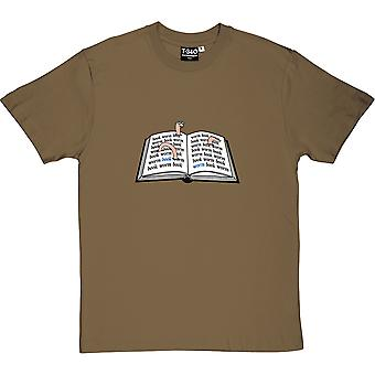 Book Worm Men's T-Shirt