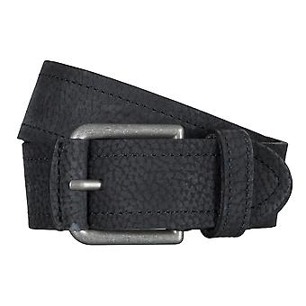 SAKLANI & FRIESE belts men's belts leather belt black 5021
