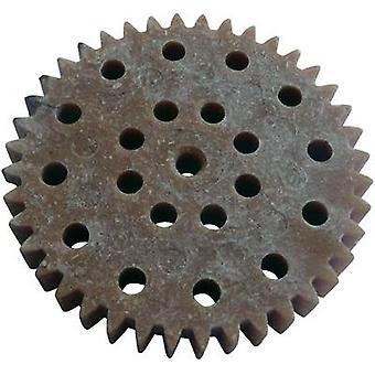 Wood, PVC Cogwheel Modelcraft Module Type: 1.0 No. of teeth: 40 1 pc(s)