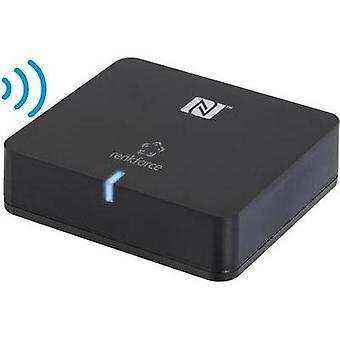 Bluetooth® audio receiver Renkforce Bluetooth: 3.0 +EDR, A2DP, SBC 10 m AptX system, NFC-enabled
