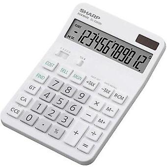 DESKTOP CALCULATOR EL-338 GGY Sharp EL-338 GGY