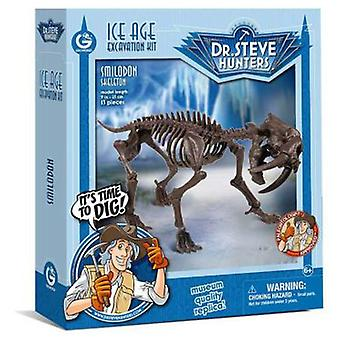 Geoworld Ice Age excav. Kit - Skeleton Smilodon