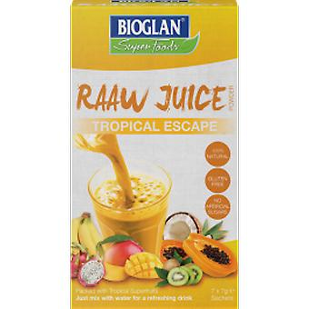 Bioglan - Raw Juice - Tropical Escape 7g x7