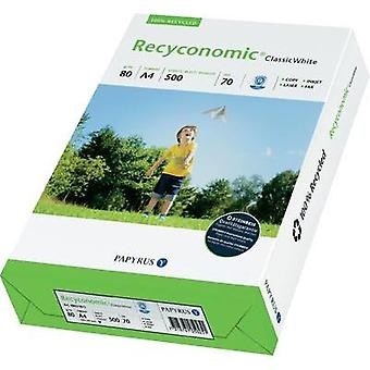 Recycled printer paper Papyrus Recyconomic Classic White 88031811 DIN A4 80 gm² 500 Sheet