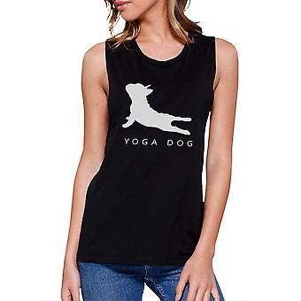 Yoga Dog Muscle Tee Yoga Work Out Tank Top Gifts For Dog Lovers