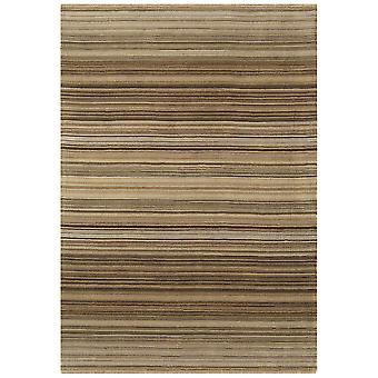 Rosario Natural Stripe Modern Wool Rug