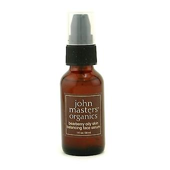 John Masters Organics Bearberry Oily Skin Balancing Face Serum (For Oily/ Combination Skin) 30ml/1oz