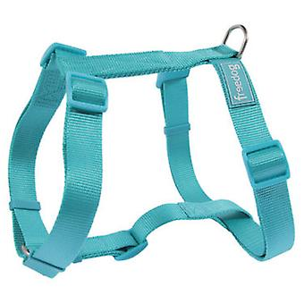 Freedog Nylon benutten 10 mm basic Turquoise