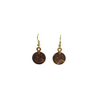 Nice vintage statement earrings with mints