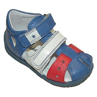 Froddo Boys Blue Sandals G2150071-1 gesloten teen