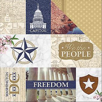 Let Freedom Ring Double-Sided Cardstock 12
