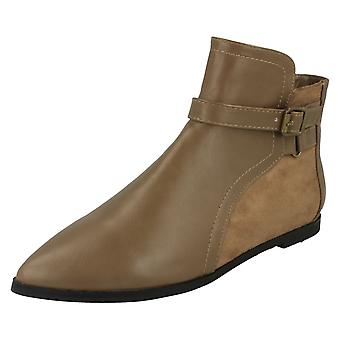 Ladies Spot On Ankle Boots F4363