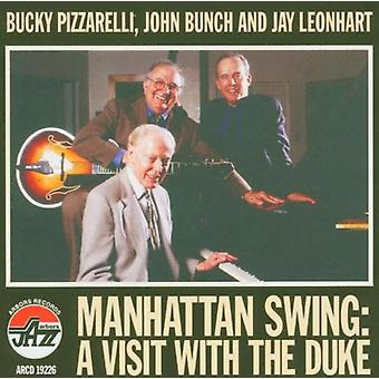 Pizzarelli/Bunch/Leonhart - Manhattan Swing-Visit with the [CD] USA import